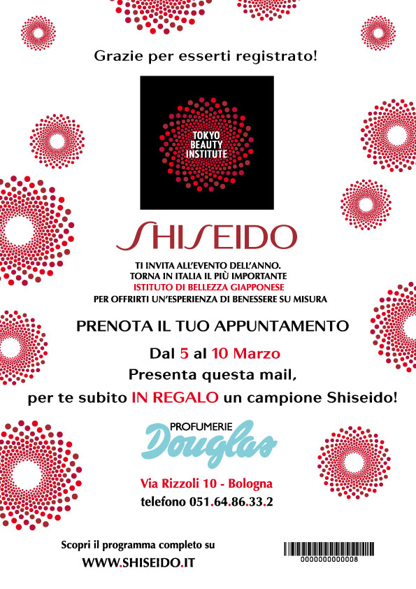 2012 - Shiseido - Coupon