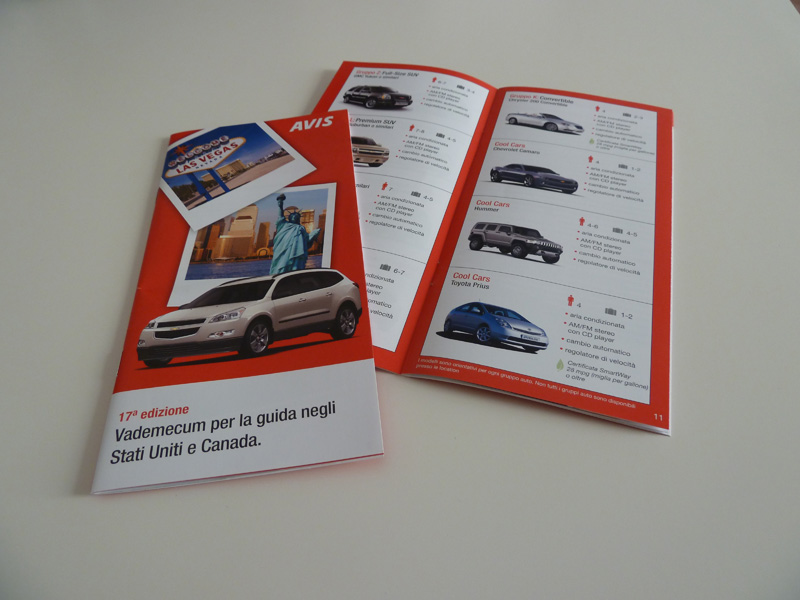2011 - Avis - USA and Canada driving guide