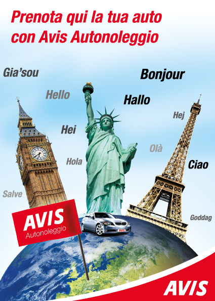 2011 - Avis - Window sticker