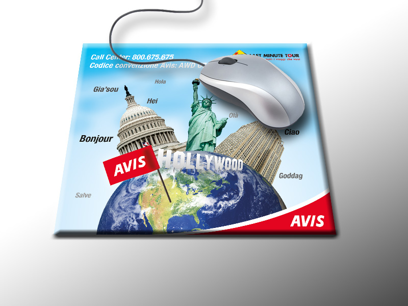 2011 - Avis - Mousepad