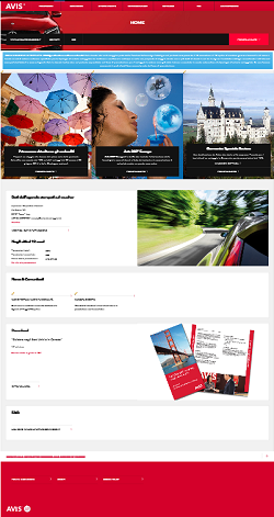 "Avis Budget Italy: new Travel Agency web portal and e microsite ""8 March"""
