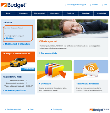 Budget: new travel agent web portal realized by edisfera