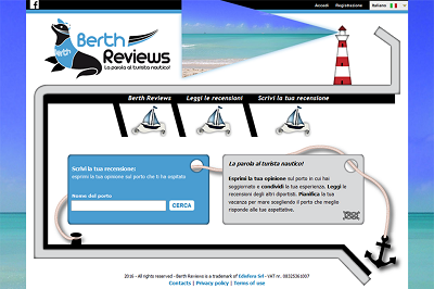 Edisfera realize Berth Reviews, new online project for nautical tourism